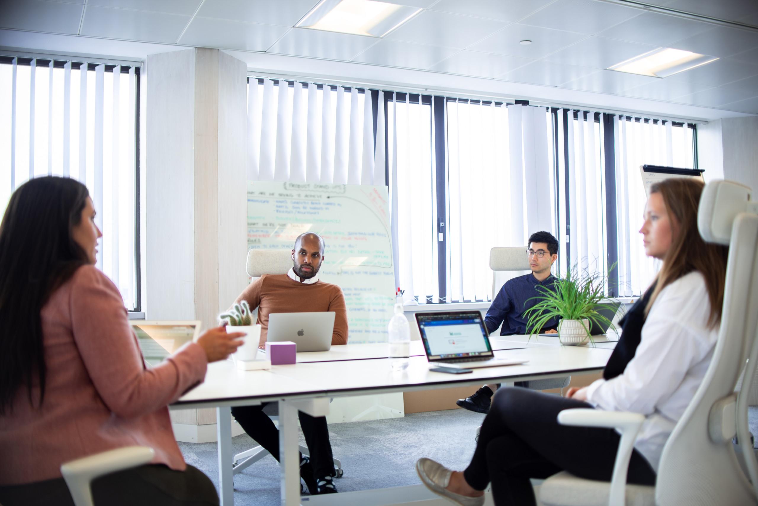 MySense staff meeting
